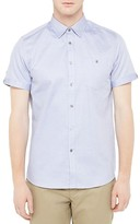 Ted Baker Beachee Regular Fit Short Sleeved Shirt
