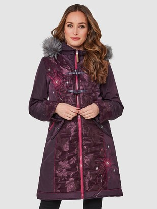 Joe Browns Joe's Remarkable Parka - Purple