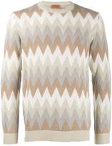 Missoni zigzag knitted sweater