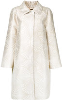 Alberta Ferretti high shine coat - women - Polyester - 42