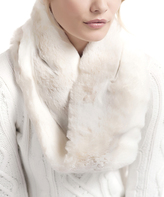 Iced Mink Faux Fur Infinity Scarf