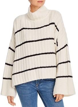 Eleven Six Talia Striped Poncho Sweater