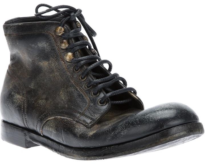 Dolce & Gabbana distressed boot