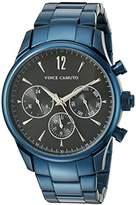 Vince Camuto Men's VC/1085DGNV The Chairman Multi-Function Dial Navy Blue Bracelet Watch