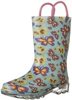 Western Chief Kids' Flutter Firece Rain K Pull-On Boot