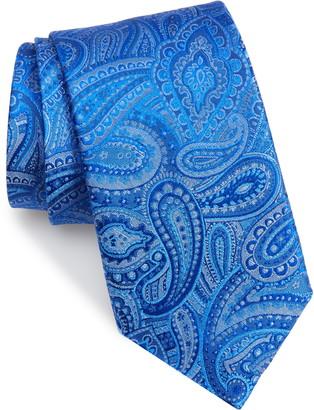 David Donahue Silk X-Long Tie