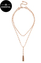 BaubleBar Abbie Y-Choker Necklace
