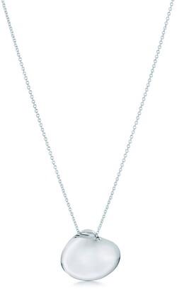Tiffany & Co. Elsa Peretti Cat Island isle shell pendant of rock crystal in sterling silver