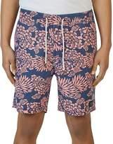 Barney Cools Amphibious Floral Swim Trunks