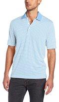 Cutter & Buck Men's Big-Tall Cb Drytec Trevor Stripe Polo Shirt