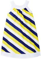 Toobydoo Striped Piazza Dress (Toddler, Little Girls, & Big Girls)