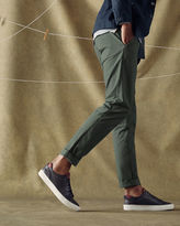 LAUNDAA Slim fit cotton chinos