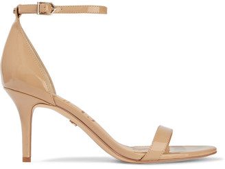 Sam Edelman Patti Faux Patent-leather Sandals