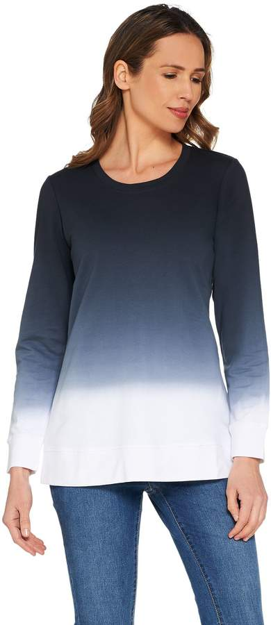 Active Dip Dye French Terry Pullover