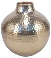 "Threshold 9.5"" Gold Metallic Vase"