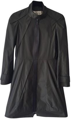 Rue Du Mail Green Coat for Women