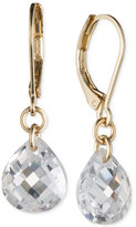 lonna & lilly Gold-Tone Crystal Drop Earrings