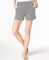 INC International Concepts Curvy Printed Shorts, Created for Macy's