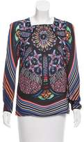 Clover Canyon Printed Long Sleeve Top