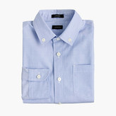 J.Crew Boys' button-down solid Ludlow shirt