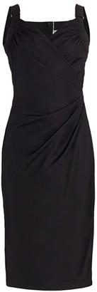 Max Mara Laziale Faux Wrap Dress