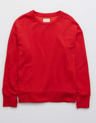 aerie OFFLINE OTT Fleece Crewneck Sweatshirt