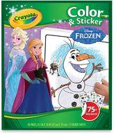 """Crayola Disney® """"Frozen"""" Color & Sticker Book"""