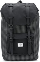Herschel grid patterned backpack