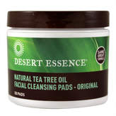 Desert Essence Facial Cleansing Pads by 50 Pads)