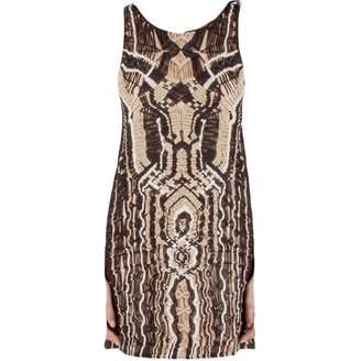 Diane von Furstenberg Metallic Cotton Dresses