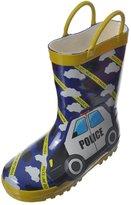 "Lilly Boys' ""Police Line"" Rain Boots"