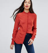 Y.a.s Tall Blouse With Pretty Scallop Detail