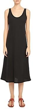 Theory Spring Linen Midi Dress