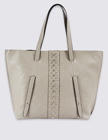 M&S Collection Faux Leather Shopper Bag