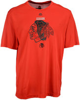 Majestic Men's Chicago Blackhawks Solid Win Synthetic T-Shirt