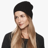 James Perse Ribbed Cashmere Beanie