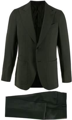 Caruso plain fitted blazer