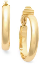 Charter Club Gold-Tone Large Hoop Earrings