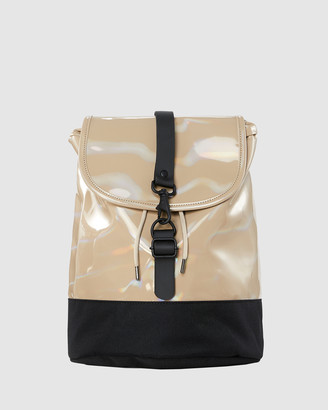 Rains Women's Neutrals Bags - Drawstring Backpack - Size One Size at The Iconic