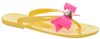 Ted Baker Polee Yellow Flip Flops
