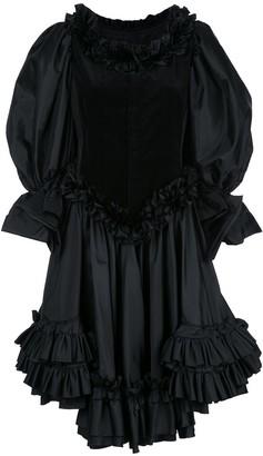 Comme des Garcons Ruffled Dress