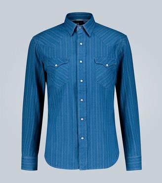 Ralph Lauren RRL Printed long-sleeved shirt