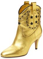 Marc Jacobs Georgia Metallic Leather Cowboy Boot