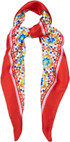 Dolce & Gabbana Carretto-print silk scarf