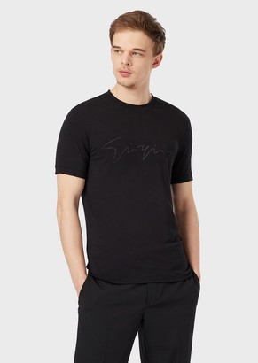 Giorgio Armani GiorgioS Viscose Jersey T-Shirt