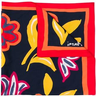 Marni Floral-Print Silk Scarf