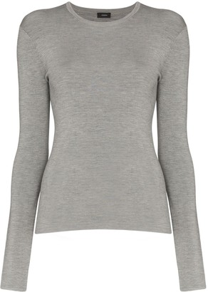 Joseph stretch-knit long-sleeve top