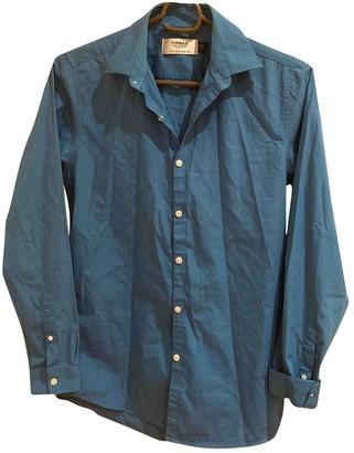 Topman Blue Trench Coat for Women