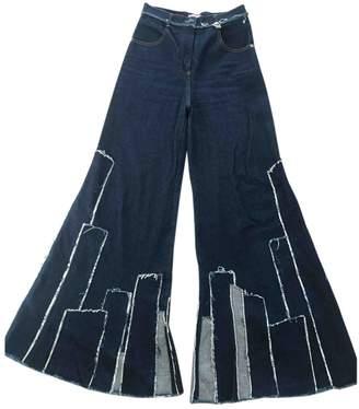 Natasha Zinko \N Blue Cotton Jeans for Women