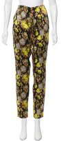 Giambattista Valli Jacquard High-Rise Pants w/ Tags